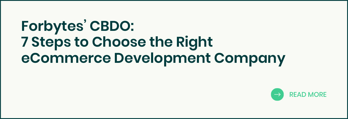 7 Steps to Choose the eCommerce Development Company banner