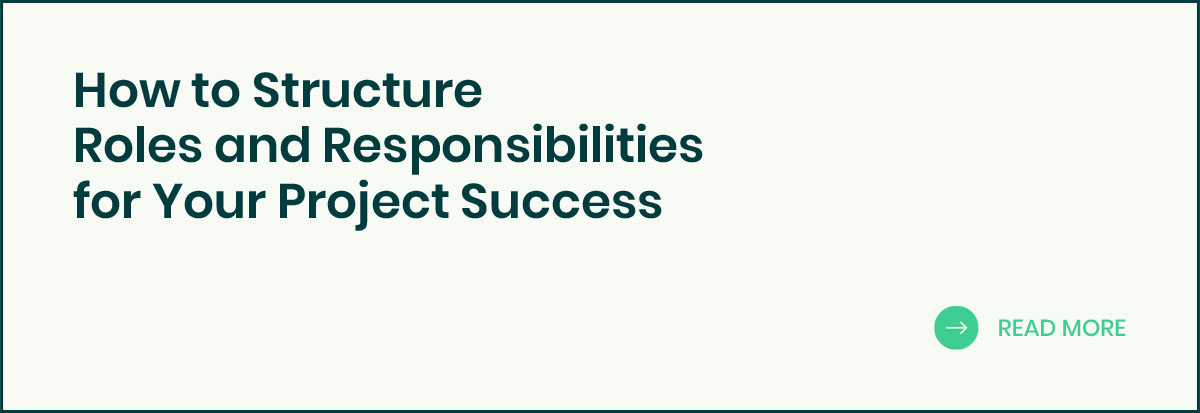 Structure Roles and Responsibilities banner