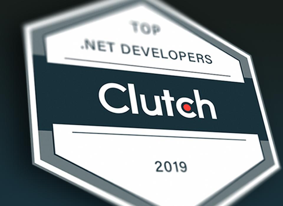 Top .NET developers Clutch 2019