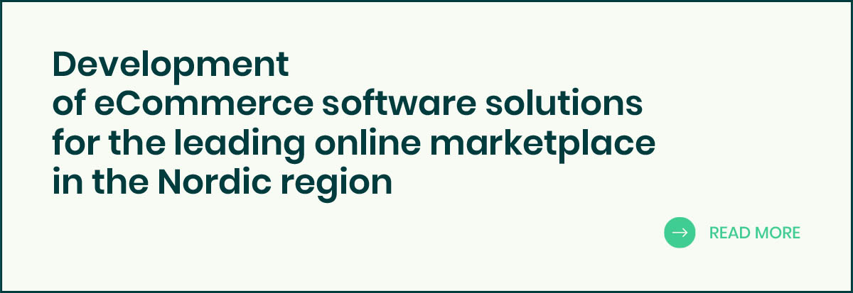 Development of eCommerce software solutions banner