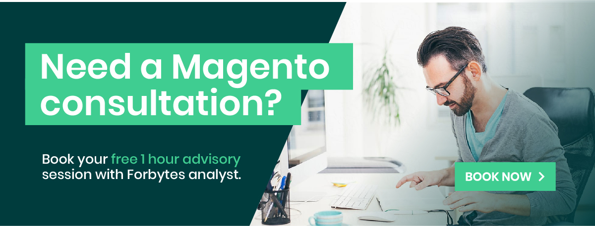 Magento development consultation banner