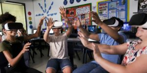 VR in classrom