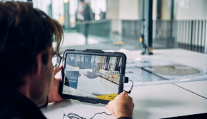 Augmented reality in use