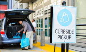 Curbside pickup and eCommerce