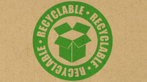 Symbol of green packaging in eCommerce