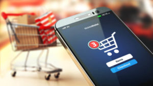 eCommerce on mobiles and smartphones