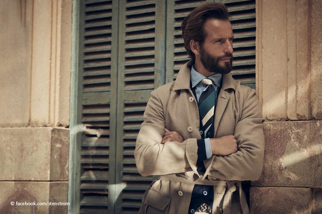 Man in Stenstroms clothes