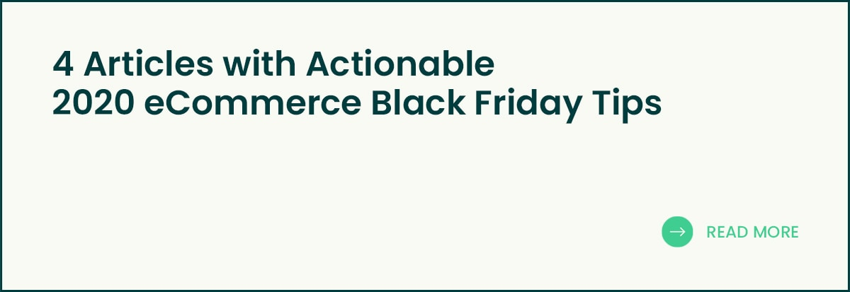 Articles with 2020 eCommerce Black Friday Tips banner