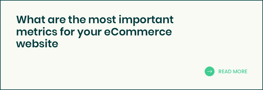 The most important metrics for your eCommerce banner